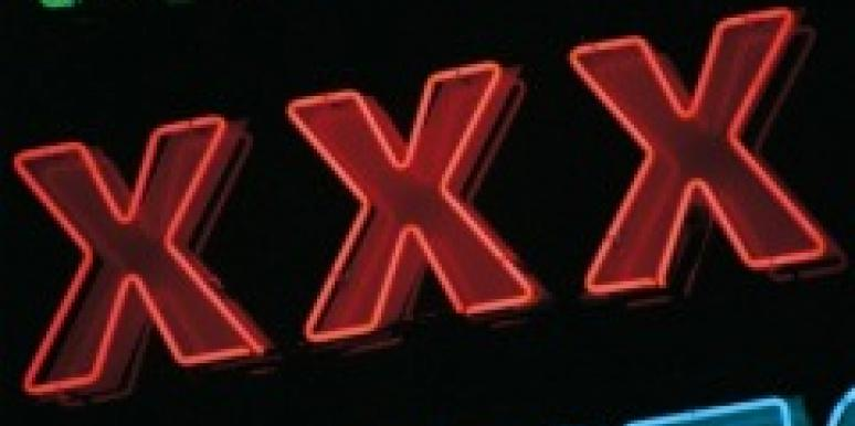 xxx triple-x porn porno pornography sign