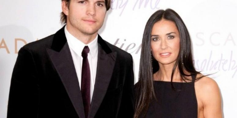 "Demi Moore Divorcing Ashton Kutcher ""With Great Sadness"""