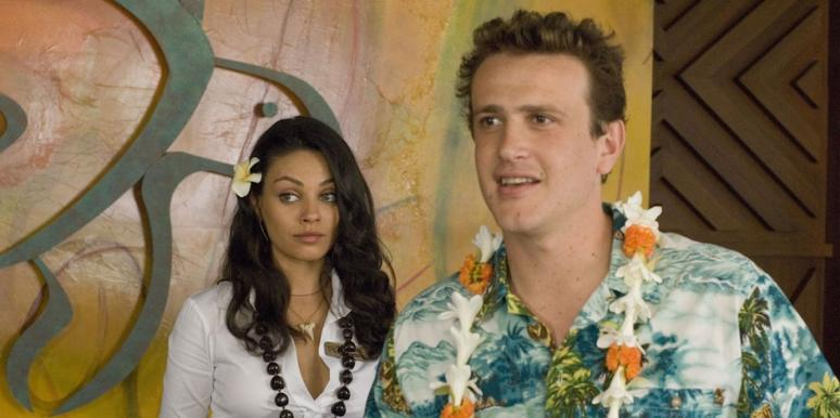 Jason Segel and Mila Kunis from Forgetting Sarah Marshall