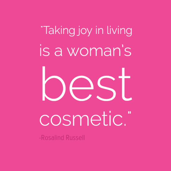 Rosalind Russell inspirational quotes