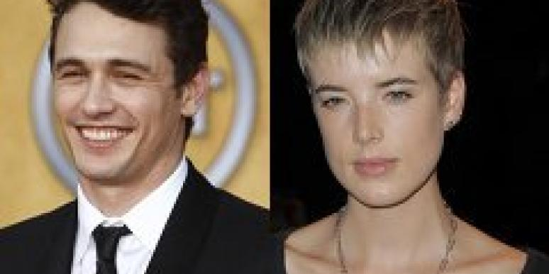 James Franco and Agyness Deyn.