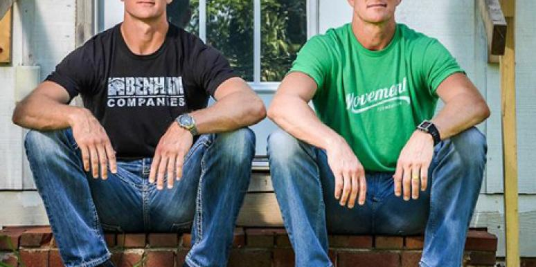 David Benham and Jason Benham of HGTV 'Flip It Forward'