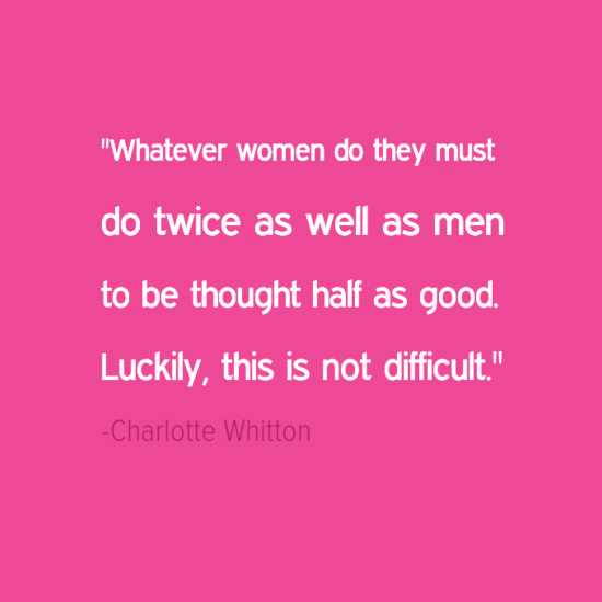 Charlotte Whitton inspirational quotes