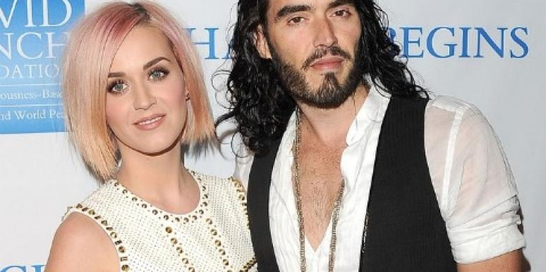 On The Rocks? A Separate Christmas For Katy Perry & Russell Brand