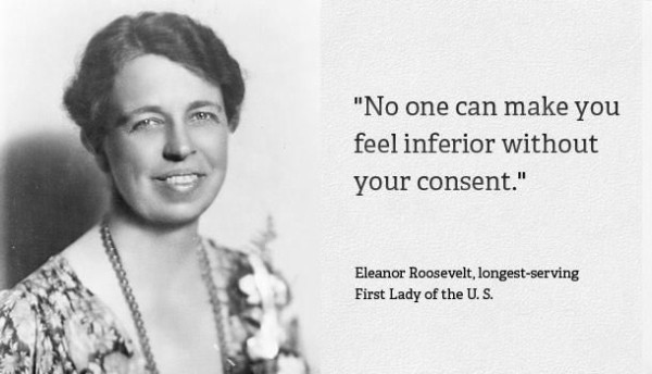 eleanor roosevelt Inspiring Quote About Life