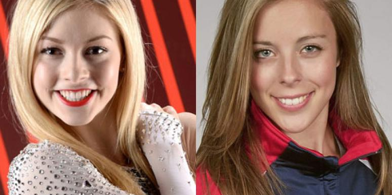 Gracie Gold And Ashley Wagner 2014 Olympics