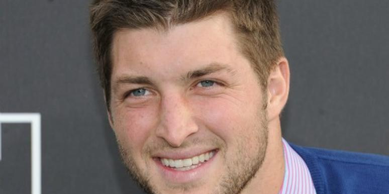 Tim Tebow smiling