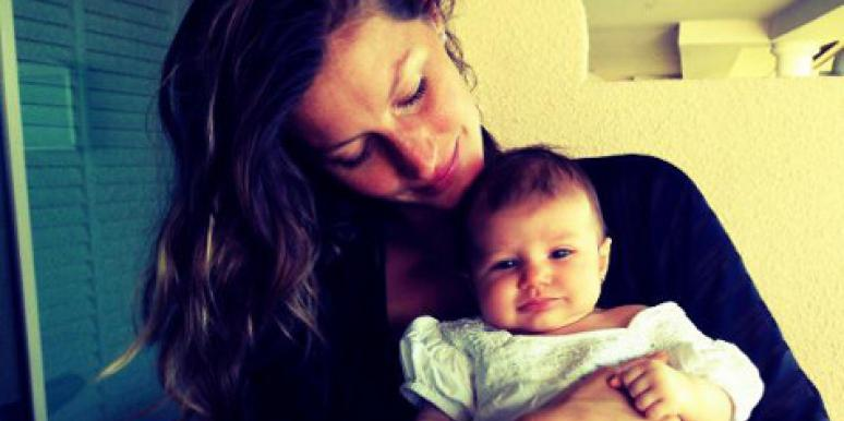 Gisele Bündchen and daughter Vivian Lake