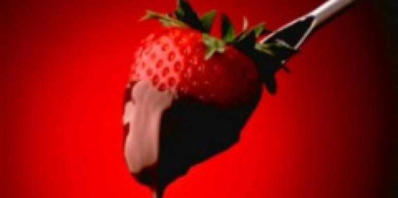 strawberry chocolate fondue aphrodisiac