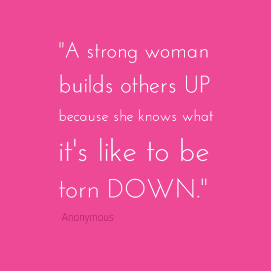 building women up inspirational quotes