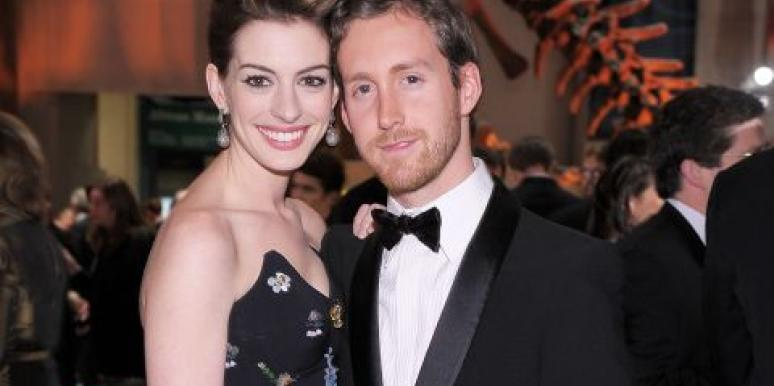 Should Anne Hathaway's Husband Be Mad About Her Wardrobe Mishap?