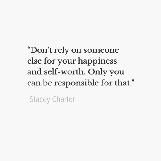 Stacey Charter happiness quotes