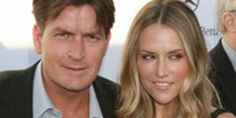 Charlie Sheen and Brooke Mueller in happier days.