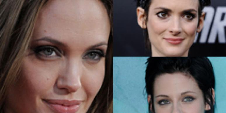 Winona and Kristen aren't impressed with Angelina