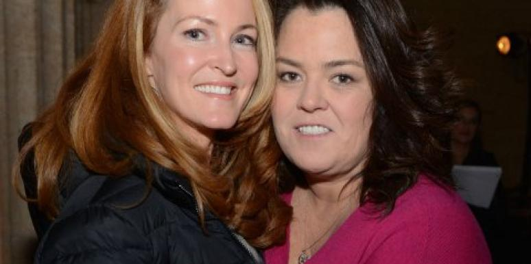 Rosie O'Donnell married
