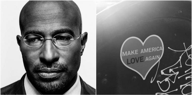 Van Jones Love Army 2017 election Trump