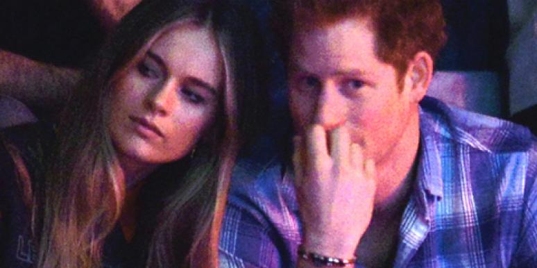Cressida Bonas and Prince Harry before their breakup