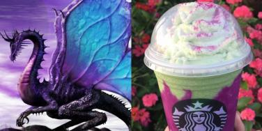 Forget Unicorns––It's The Dragon Frappuccino From Starbucks That We Want!