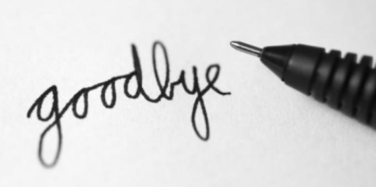 6 Ways To Say Goodbye When You Can't Do It Face-To-Face [EXPERT]