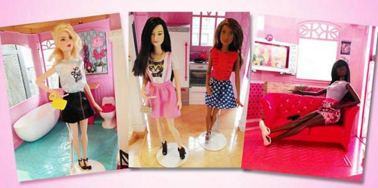 Barbie Fashiontas Line