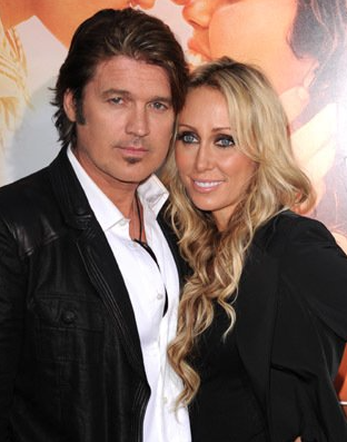 "Billy Ray and Tish Cyrus - <a href=""http://www.imdb.com"">IMDB</a>"