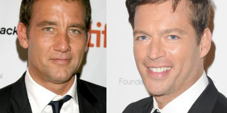 Clive Owen and Harry Connick Jr.