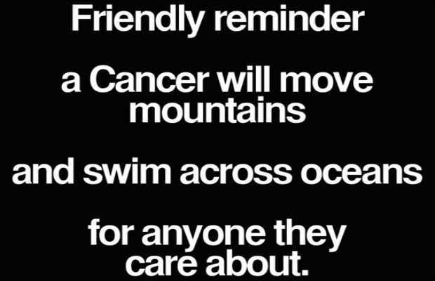 Cancer love