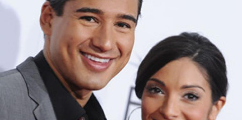 Mario Lopez is a Dad