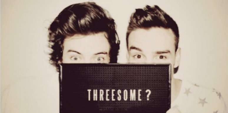 Threesome sign