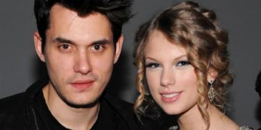 John Mayer and Taylor Swift together