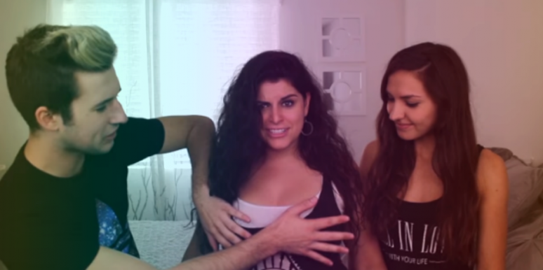 Watch Gay Men Touch Boobs For The First Time
