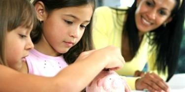 parenting: ways to save money as a family with spring cleaning