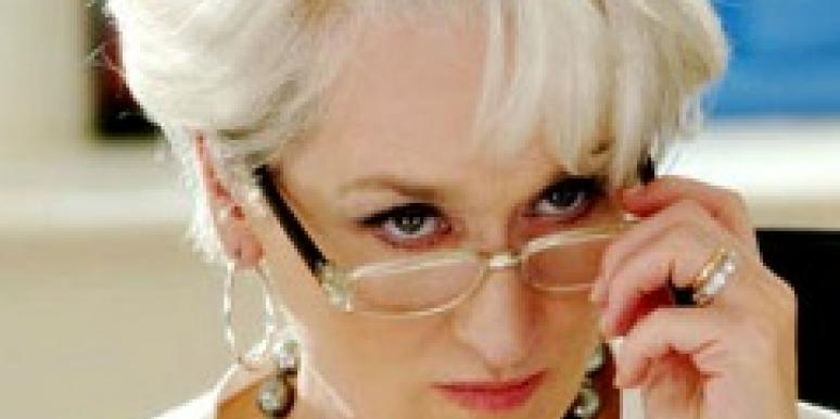 Meryl Streep as Miranda Priestly