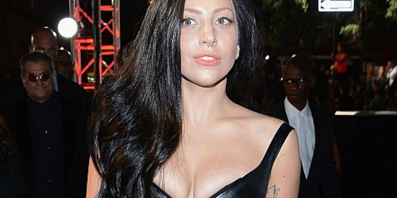 Nude Celebrities: Lady Gaga Bares It All Doing Yoga