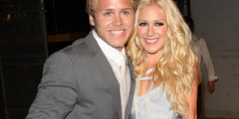 Heid Montag and Spencer Pratt