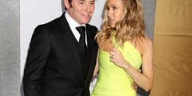 Sarah Jessica Parker and Matthew Broderick at the Sex and the City 2 premiere