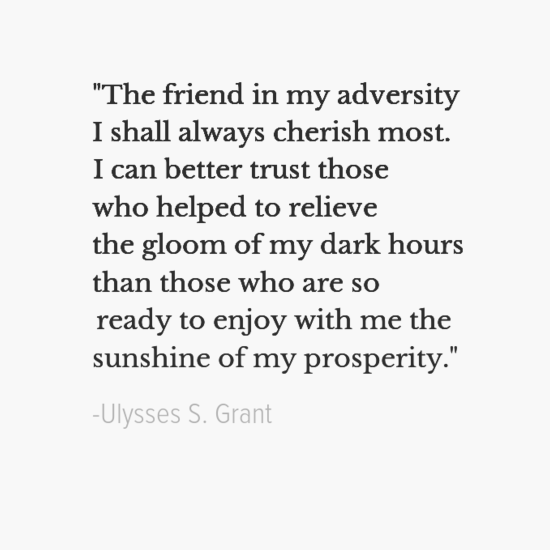 Ulysses S. Grant inspirational president quotes