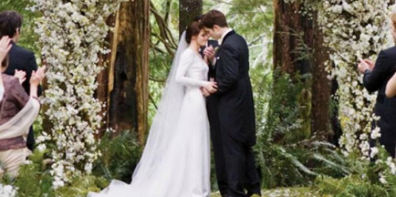 Why Kristen Stewart 'Stressed' During Breaking Dawn Wedding Scene