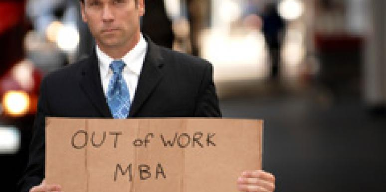 unemployed mba