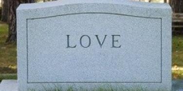 Tombstone for love