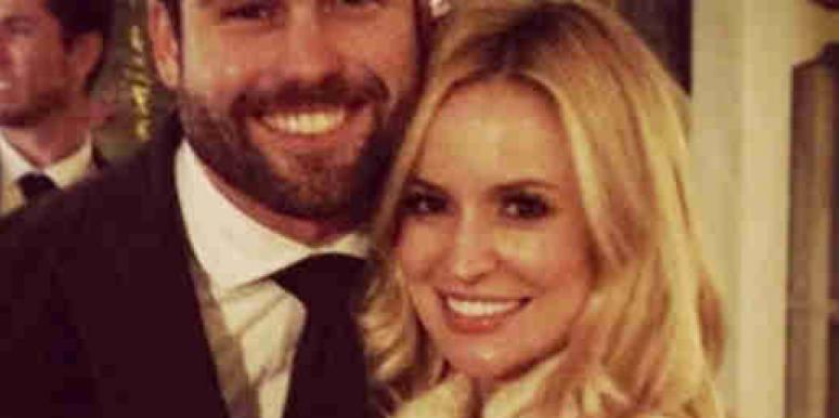 'Bachelor' and 'Bachelorette' star Emily Maynard with her new husband, Tyler Johnson, via Instagram