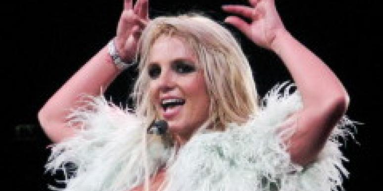 Britney Spears on Circus tour