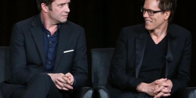 Kevin Bacon & James Purefoy
