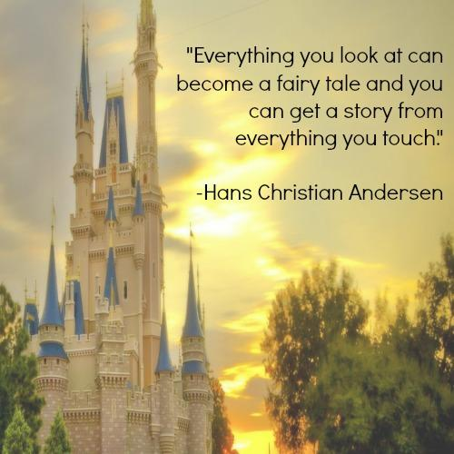 Hans Christian Andersen fairy tale inspirational quotes