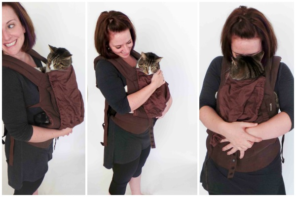 Accessories: Baby Carrier, Willing Cat.