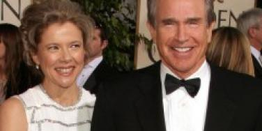 Warren Beatty and Annette Bening on the rocks?