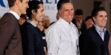 Mitt Romney and sons