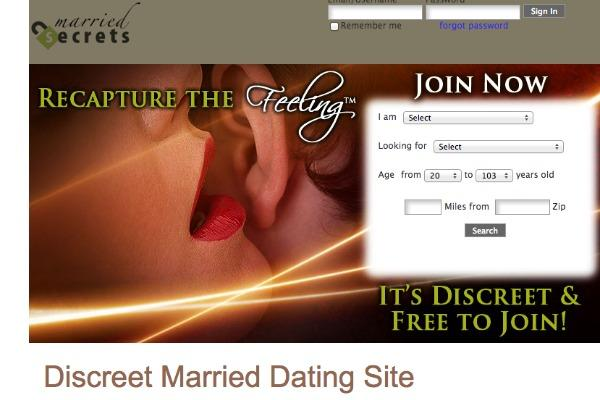 Dating website for married people hacked