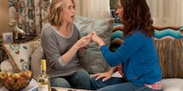 Kristen Wiig and Maya Rudolph in Bridesmaids.