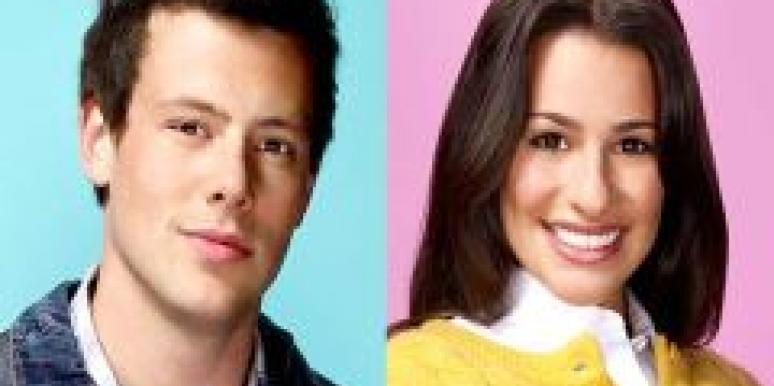 glee finn hudson rachel barry love